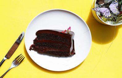 chocolade-fudge-taart