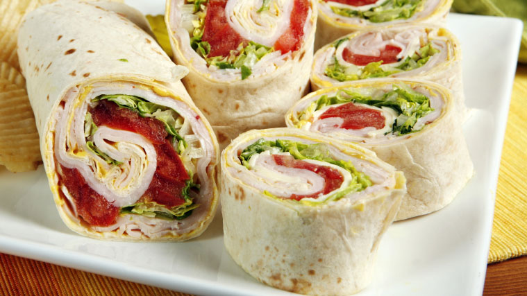 wraps-lunch