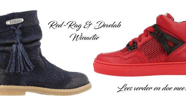 Develab laarsjes en Red-Rag sneakers Winactie