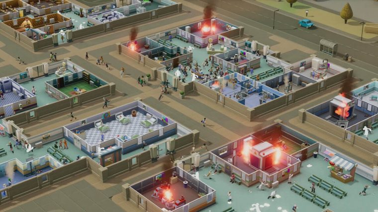 Two Point Hospital groot ziekenhuis