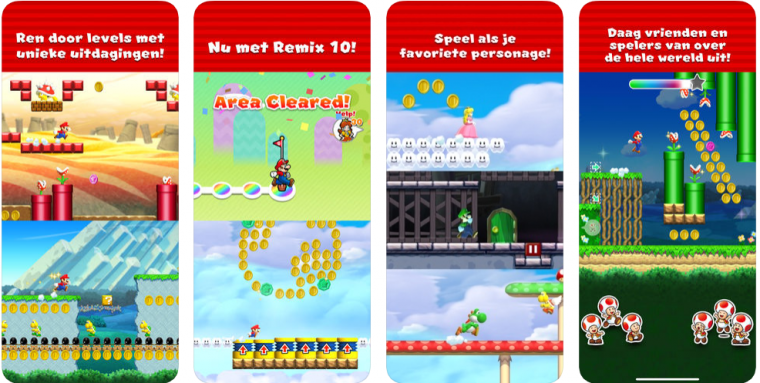 Mario Run op Android of iOS