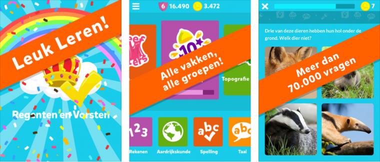 Squla kan niet aal het lijstje kinder-apps ontbreken