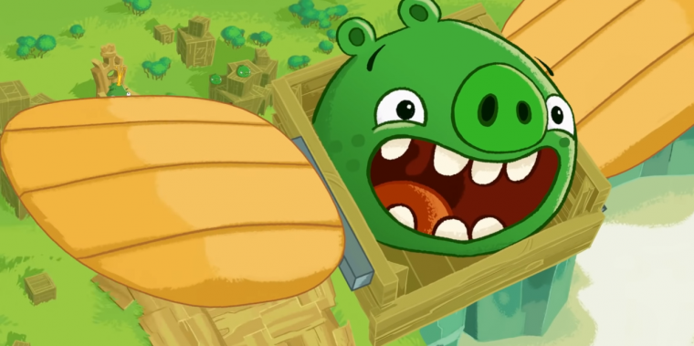 Bad Piggies een onmisbare in de lijst met kinder-apps