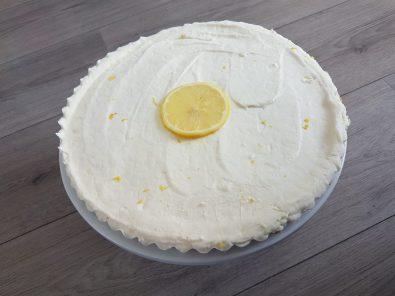 koolhydraatarme-no-bake-lemon-cheesecake