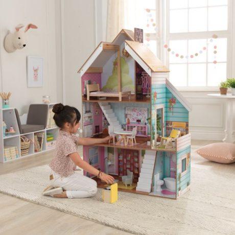 Cadeaus KidKraft Juliette houten Poppenhuis