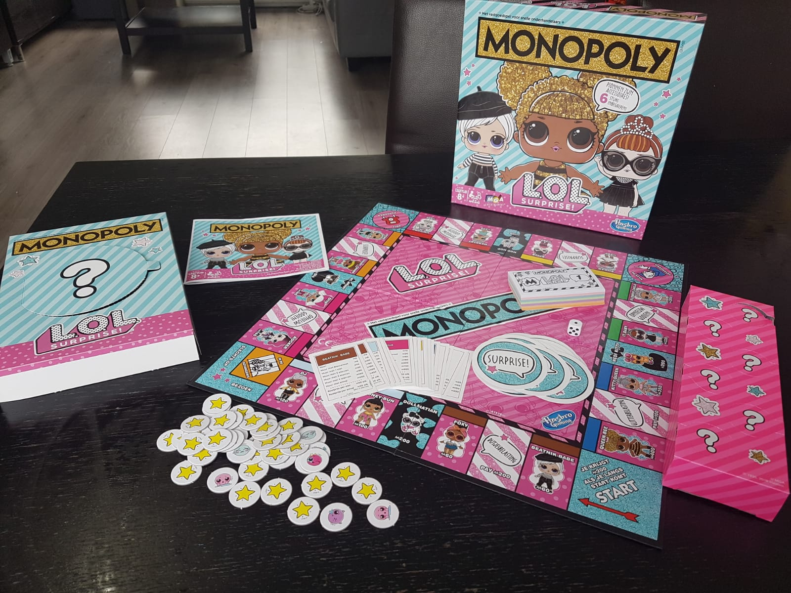 Monopoly L.O.L. Surprise! Bordspel