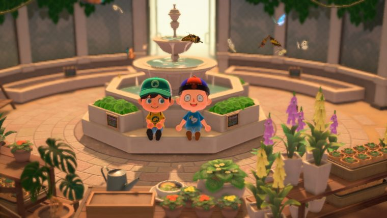 Vlindertuin Animal Crossing