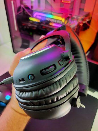 De knoppen op de Pro X wireless