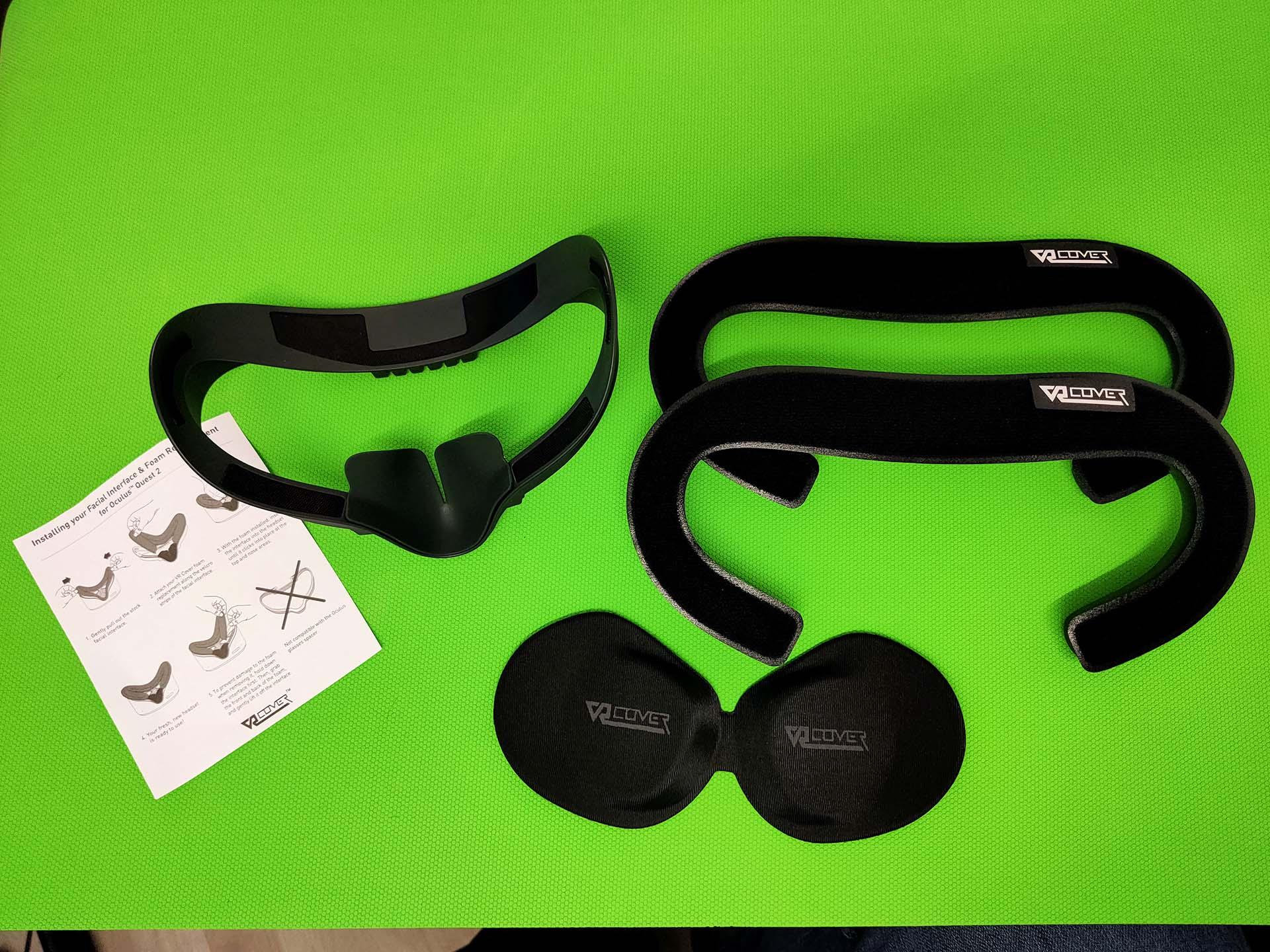 De VR Covers worden netjes verpakt en zijn erg uitgebreid.
